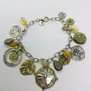 Perfect Composition Dragonfly Charm Bracelet